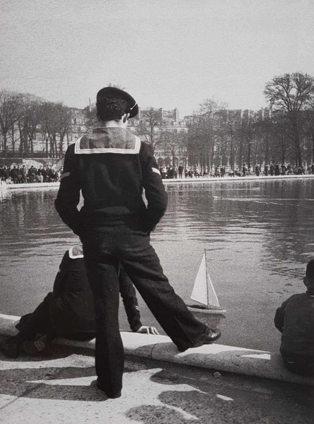 Photographie de Paris par Francois Lartigue